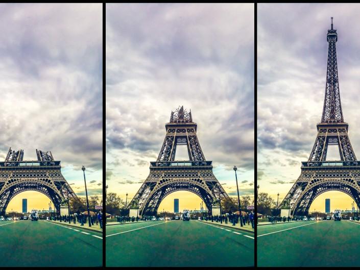 Les Tours Eiffel