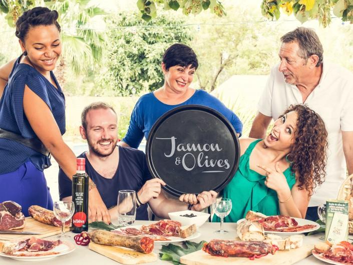 Jamon et Olives